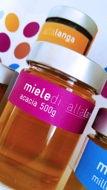 Food packaging - Studio e progettazione packaging Miele Alta Langa